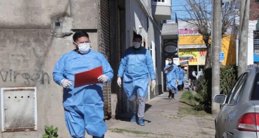 El Municipio realizó en El Palomar un nuevo operativo de detección temprana de covid-19