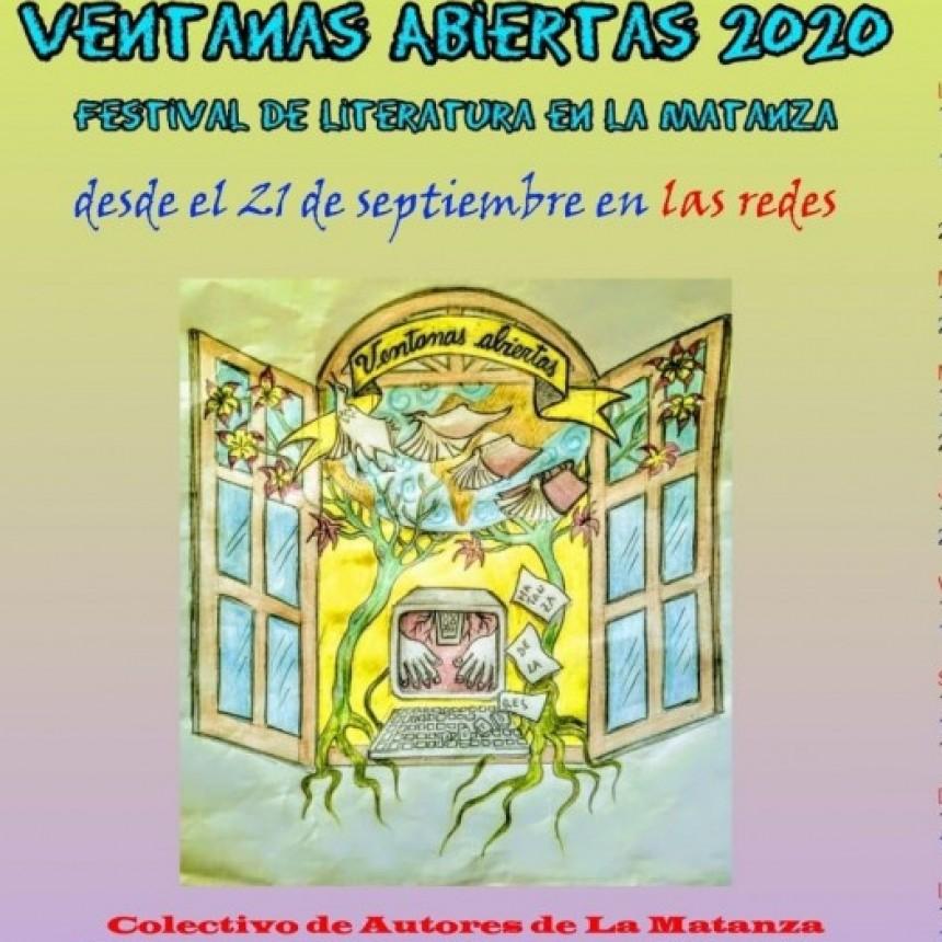 Ventanas Abiertas 2020: festival de literatura en La Matanza