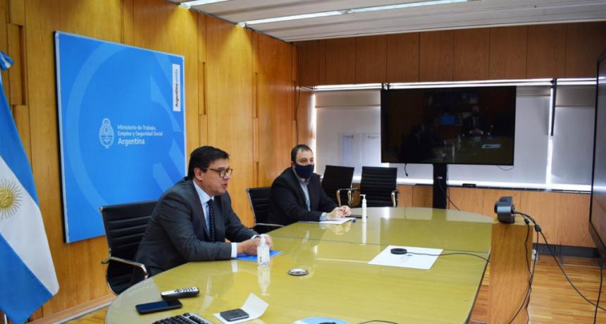 Claudio Moroni mantuvo una reunión virtual con Sergio Uñac e intendentes de San Juan