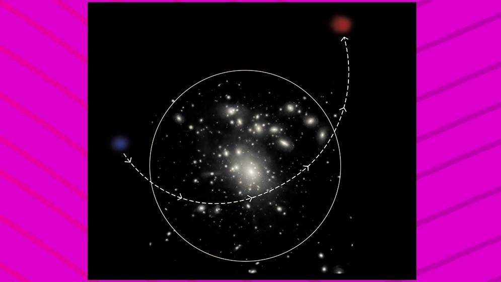 Explican el origen de las galaxias ultradifusas rojas y aisladas