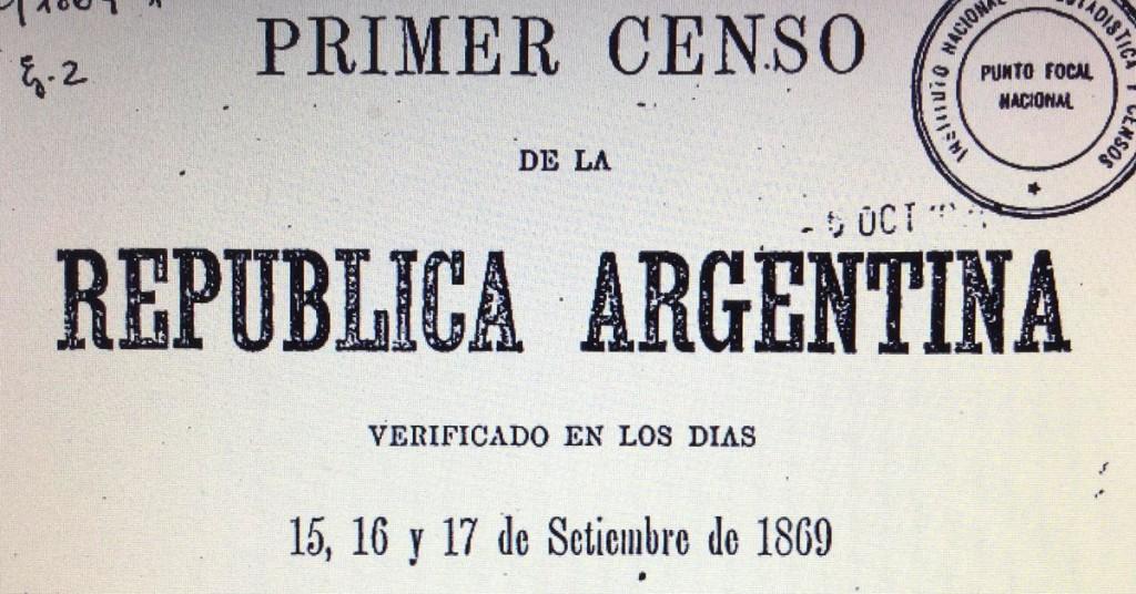 Efeméride nacional del día 15 de Septiembre: Primer Censo Nacional