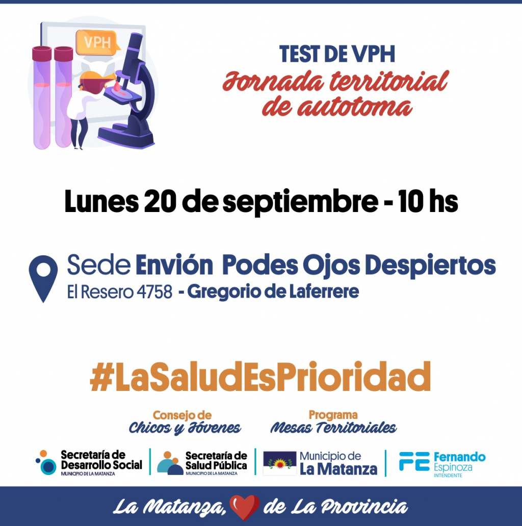 La Matanza: Jornadas autotoma VPH