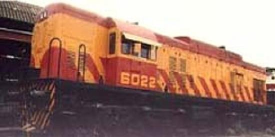 1963/ 64- Llegan al FFCC ROCA  las locomotoras General Electric GE-U13
