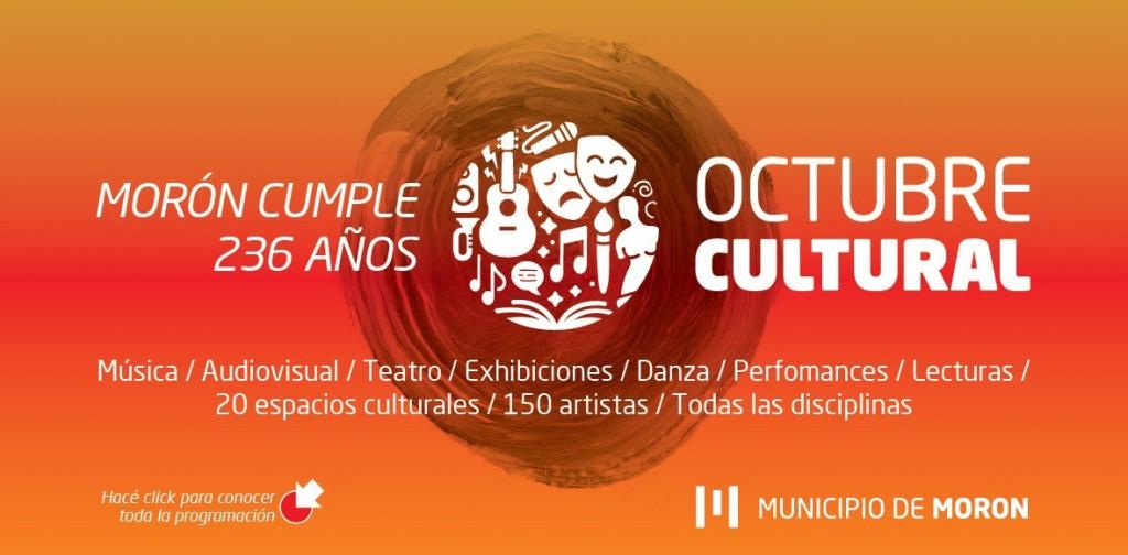 """En el mes de su aniversario, Morón celebra las artes con """"Octubre Cultural"""""""