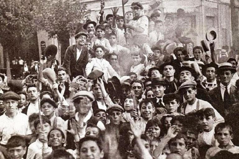 Efeméride nacional del día 27 de Septiembre: creación de la Confederación General del Trabajo