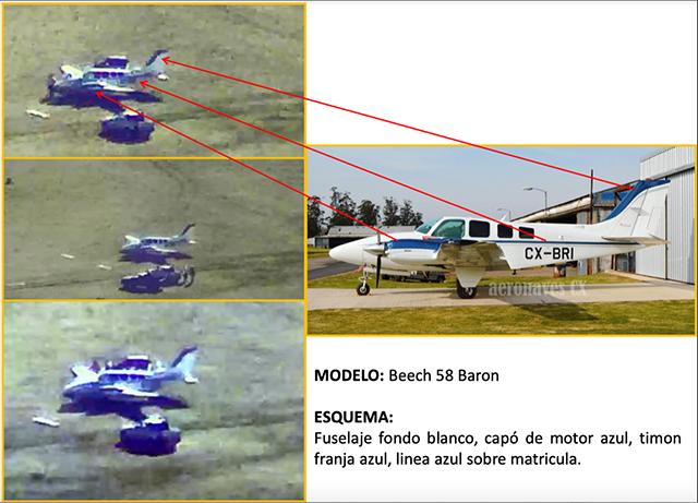 Allanamientos en Entre Ríos dieron con una avioneta que transportaba droga desde Paraguay a Uruguay