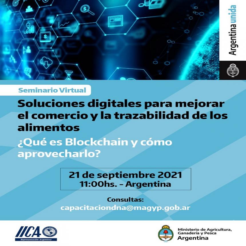 Seminario sobre soluciones digitales para mejorar el comercio y la trazabilidad de las PyMEs de alimentos