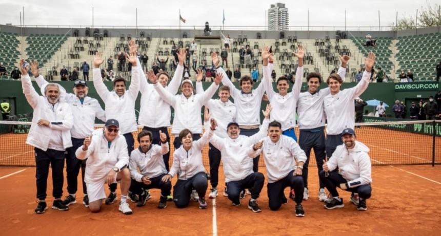 Ganó Argentina y se clasificó a los Qualifiers de la Copa Davis 2022