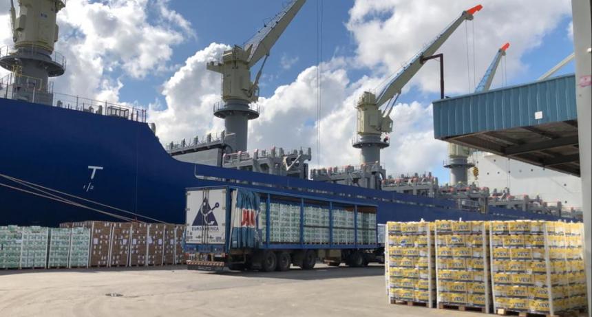 El Ministerio de Agricultura certificó embarque histórico de cítricos argentinos