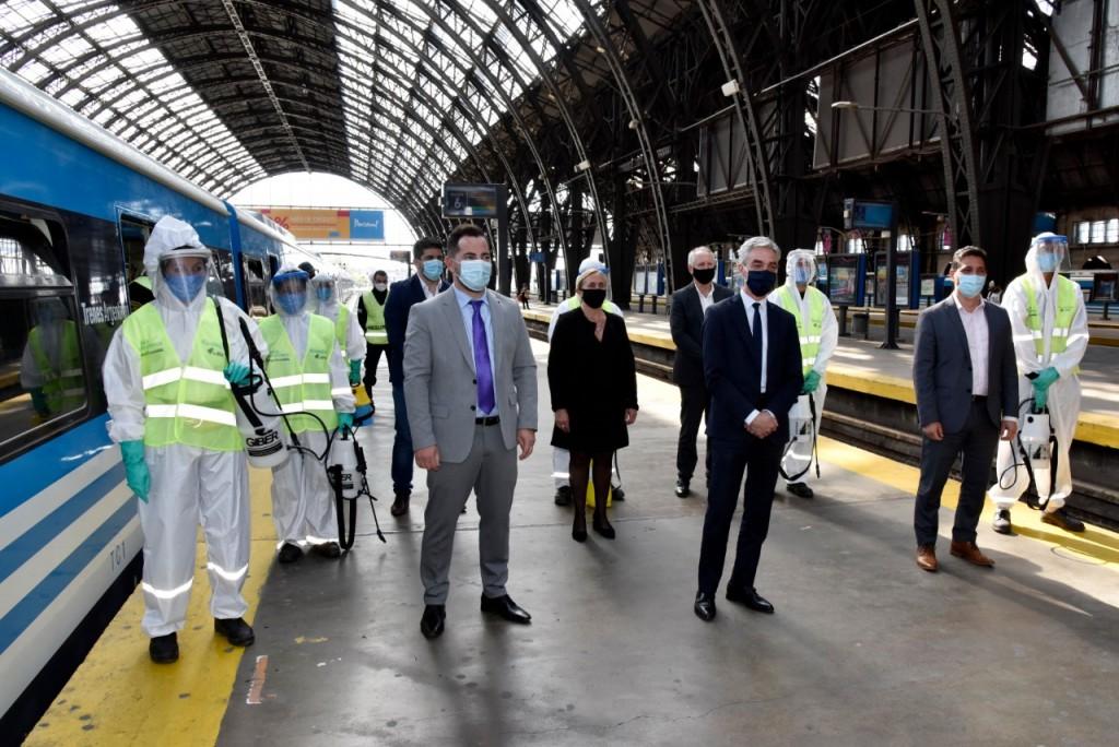 Nuevo desinfectante para disminuir el impacto del COVID en el transporte público