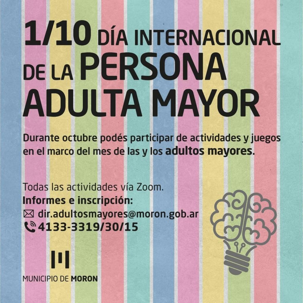 El Municipio realizará jornadas virtuales en conmemoración del mes de las personas adultas mayores