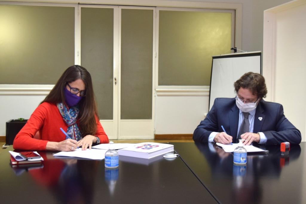 El Ministerio de las Mujeres, Géneros y Diversidad firmo un convenio con el INDEC para producir estadística con perspectiva de género