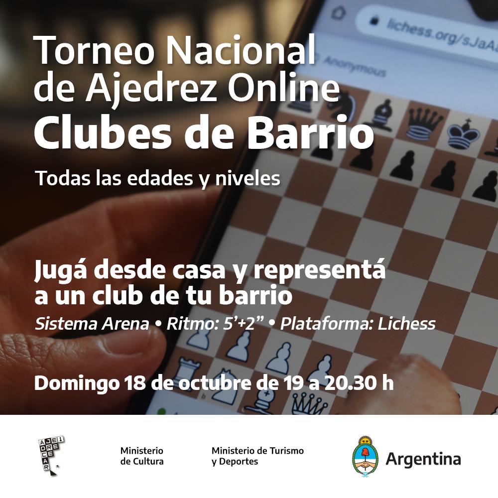 Torneo Nacional de Ajedrez Online