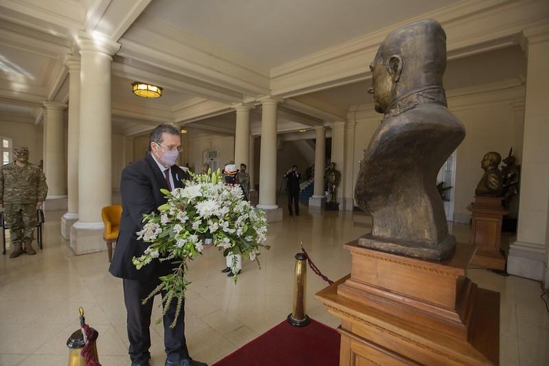 Homenaje a Juan Domingo Perón a 125 años de su natalicio