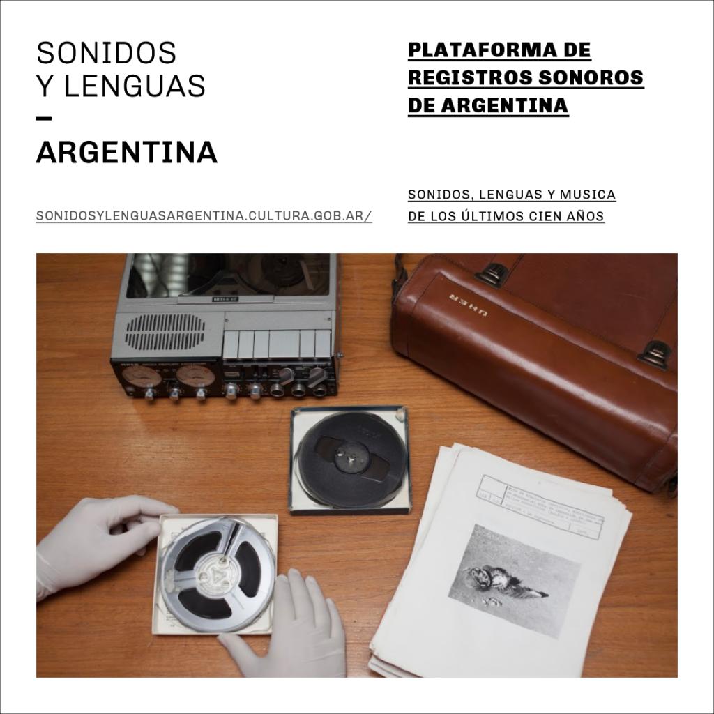Sonidos y lenguas - Argentina Plataforma de registros sonoros