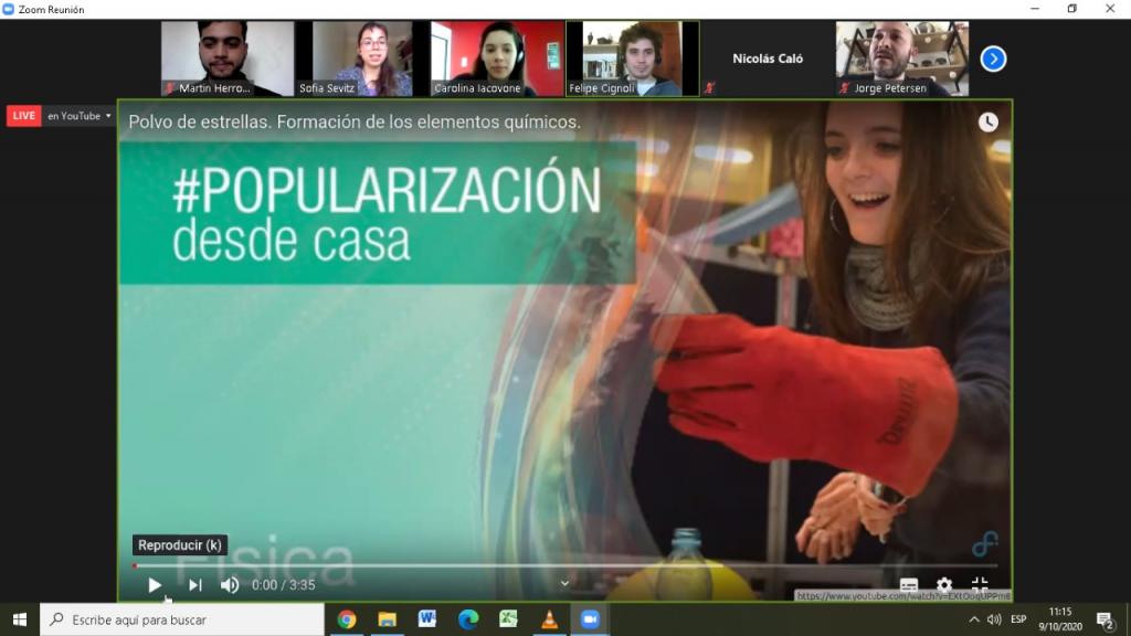 Más de 5 mil personas disfrutaron de Plaza Ciencia  modalidad virtual