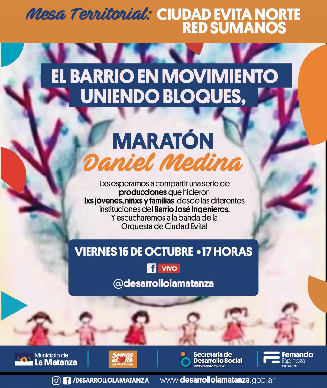 """Maratón """"Daniel Medina""""."""