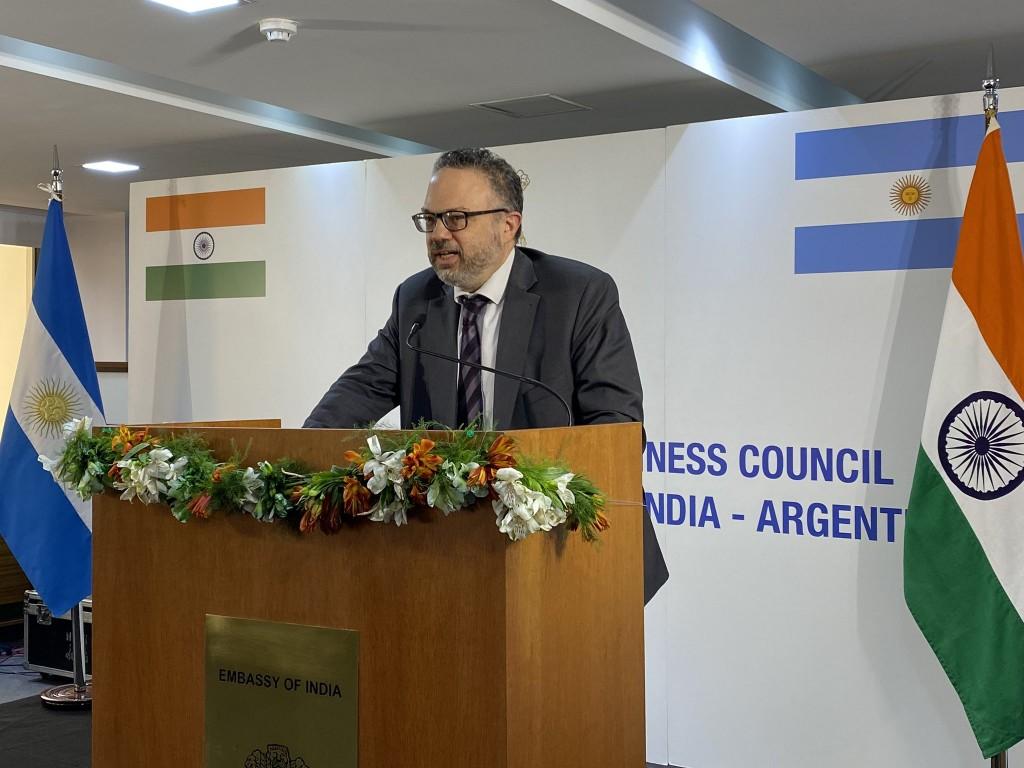 Kulfas y el embajador indio lanzaron el Consejo Económico India-Argentina
