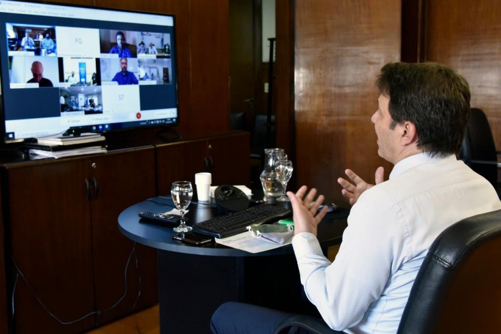Autoridades nacionales avanzaron en el Programa Federal de Salud Digital