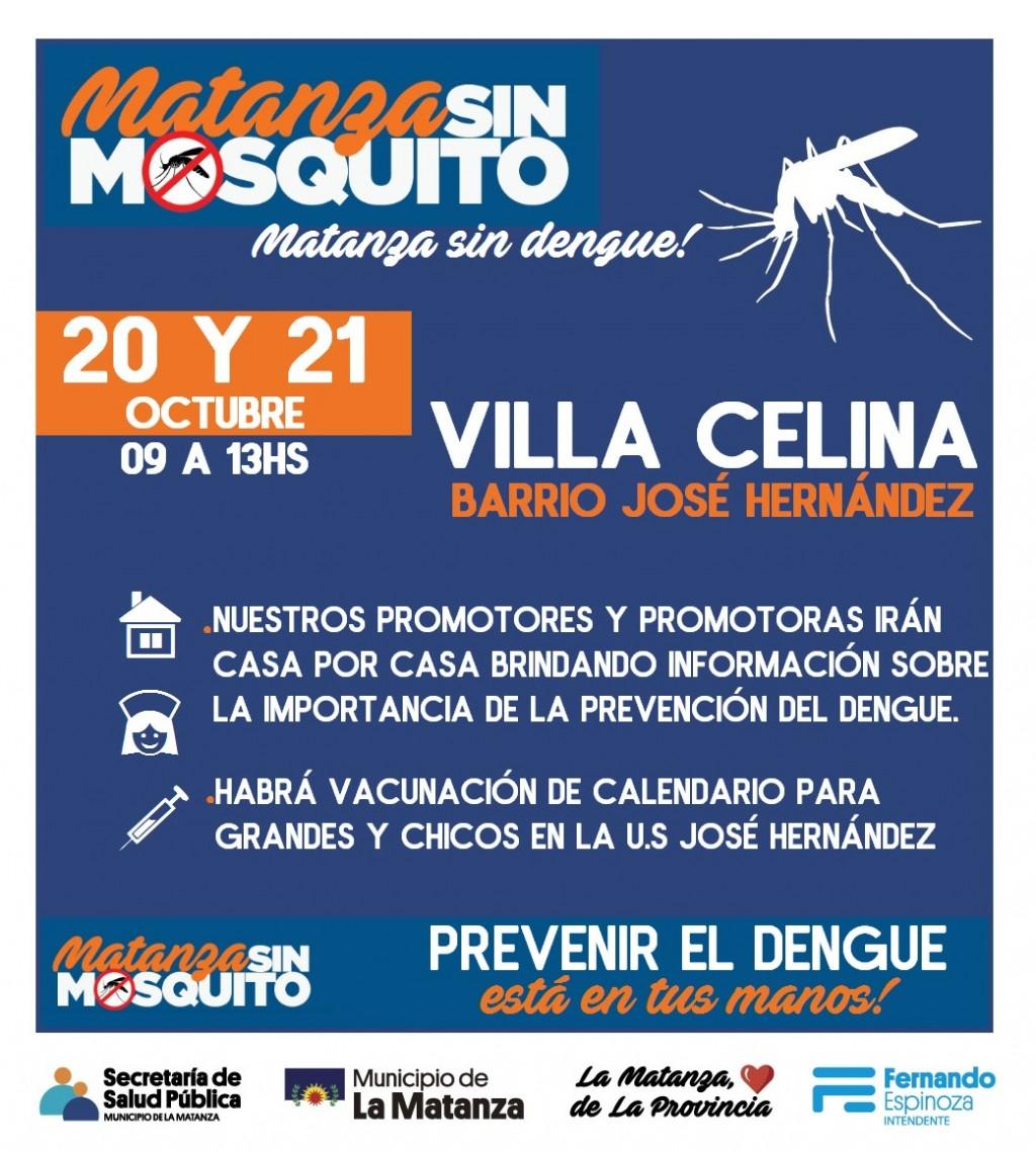 "Operativo ""Matanza sin mosquito, Matanza sin dengue"""