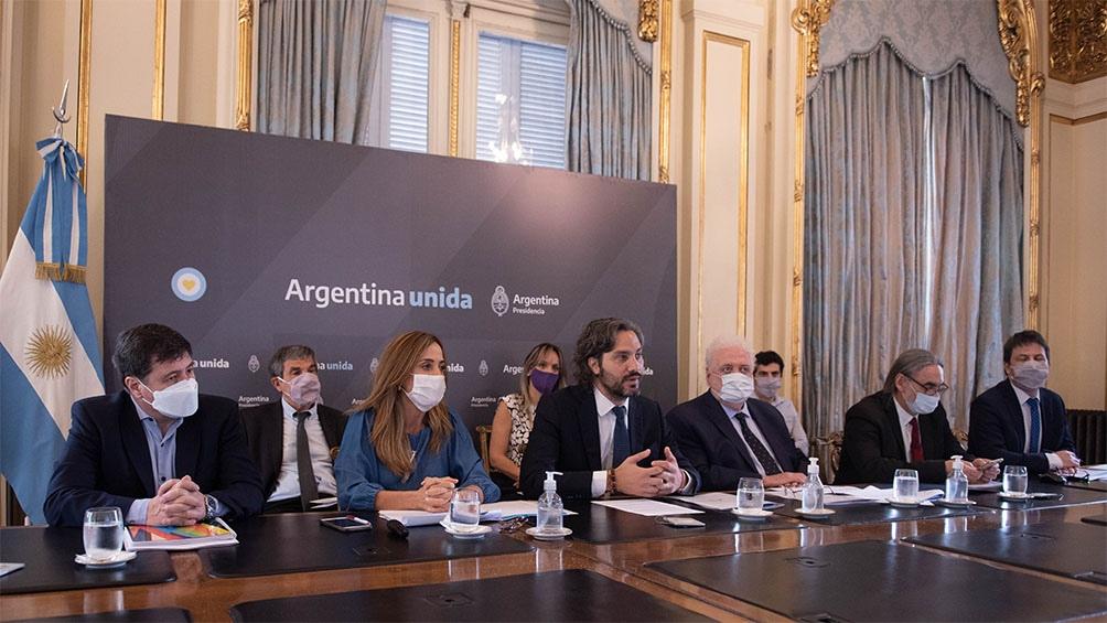 Cafiero, González García y autoridades presentaron el Plan Nacional AccionAR
