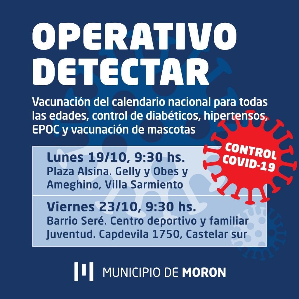 Continua el Operativo Detectar en Morón