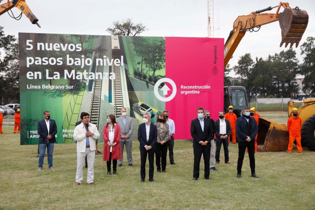 Renovación y mejoramiento integral de infraestructura ferroviaria en La Matanza