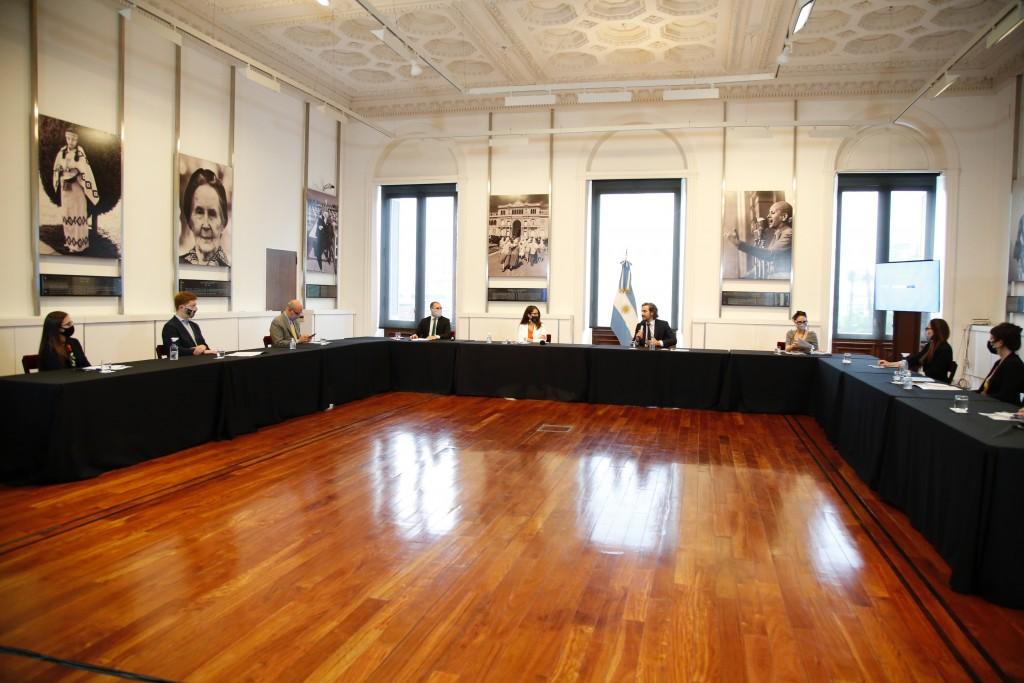 Se presentó el Programa Interministerial de Presupuesto con Perspectiva de Género y Diversidad