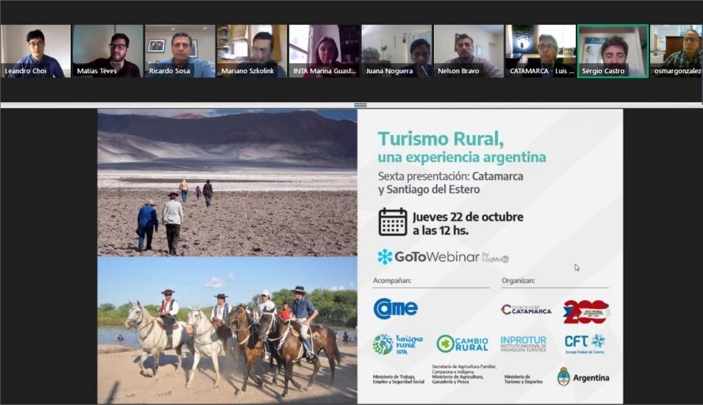 La experiencia de turismo rural en Catamarca y Santiago del Estero