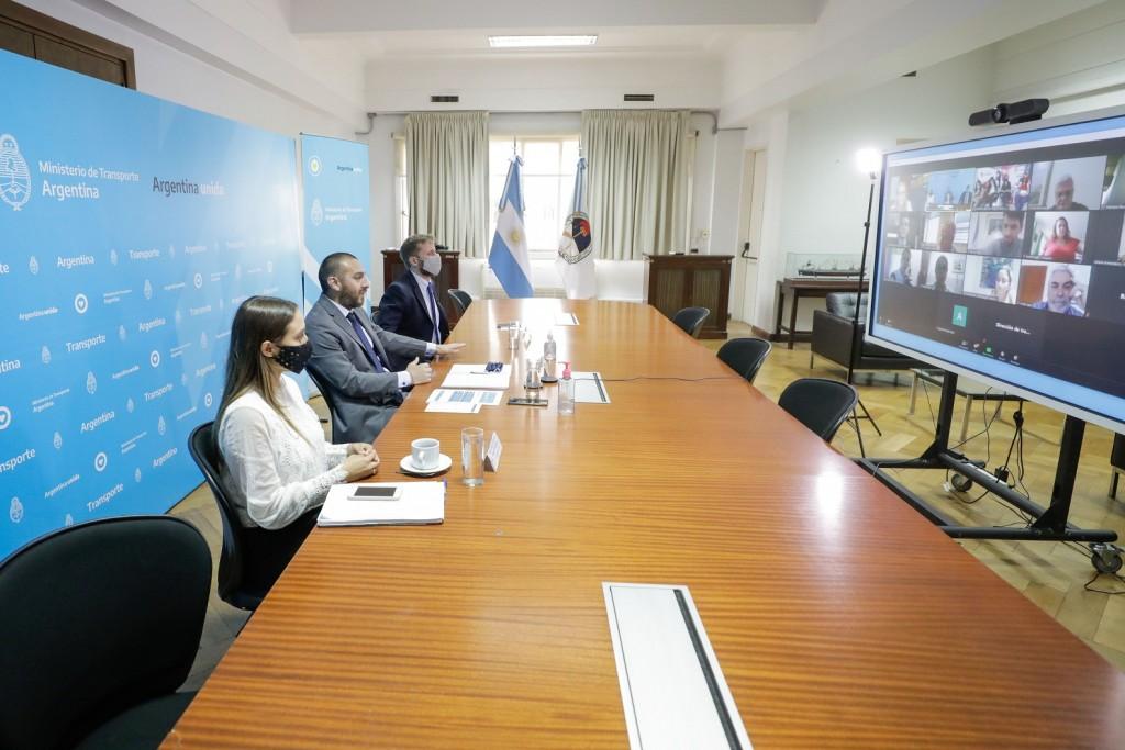 Encuentro federal para coordinar políticas públicas de género y seguridad en el transporte
