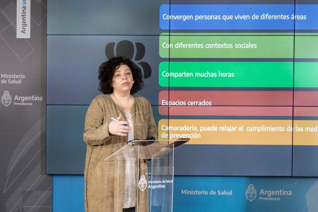 Recomendaciones para las personas que comparten un espacio laboral en el contexto de pandemia