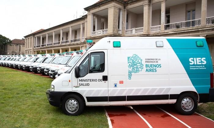 El Gobierno Bonaerense implemento una estrategia de derivación de pacientes para evitar el desborde de los Hospitales