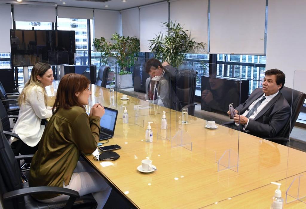 Reunión entre los ministros de Trabajo de Nación y Provincia de Buenos Aires para coordinar acciones