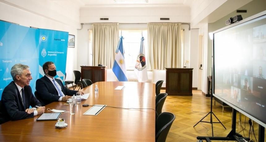 El Ministro de Transporte inauguró el primer Consejo Federal Portuario: