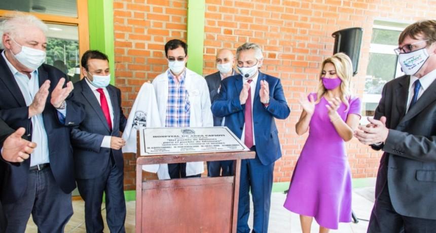 Nación acordó financiar obras, ampliar prestaciones y promover la Salud Digital en Misiones