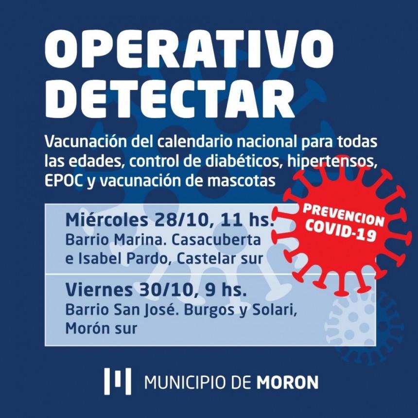 Los operativos preventivos de Covid-19 continuarán en Castelar y Morón sur