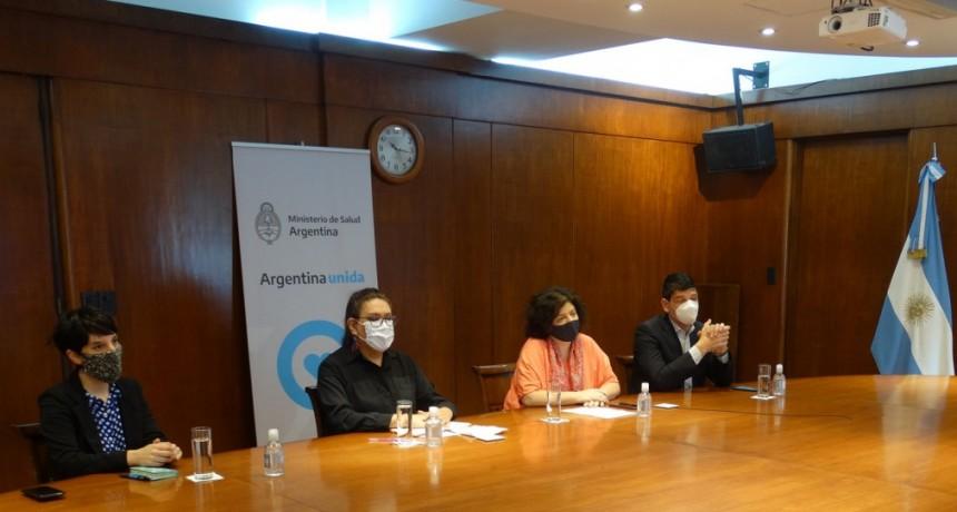 Jornada de capacitación con autoridades sanitarias sobre la Ley Micaela