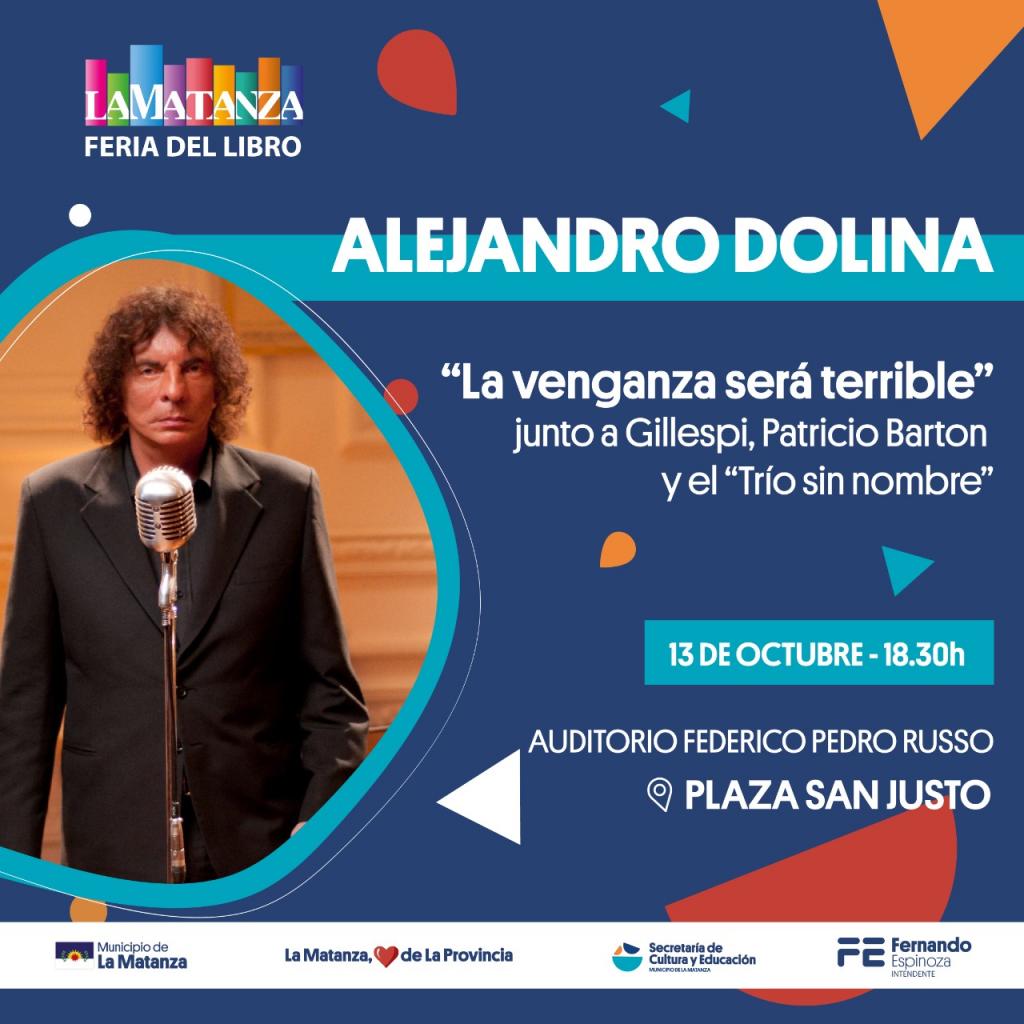 Alejandro Dolina en XIV Feria Municipal del Libro de La Matanza