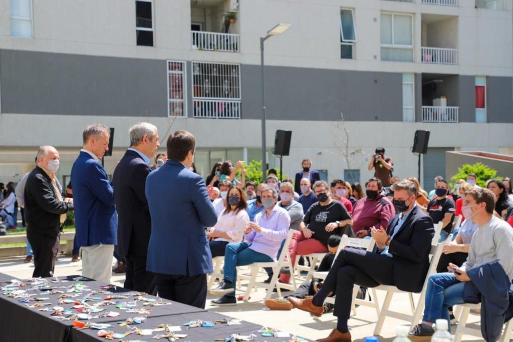 El Gobierno Nacional continúa entregando viviendas de Procrear II en CABA
