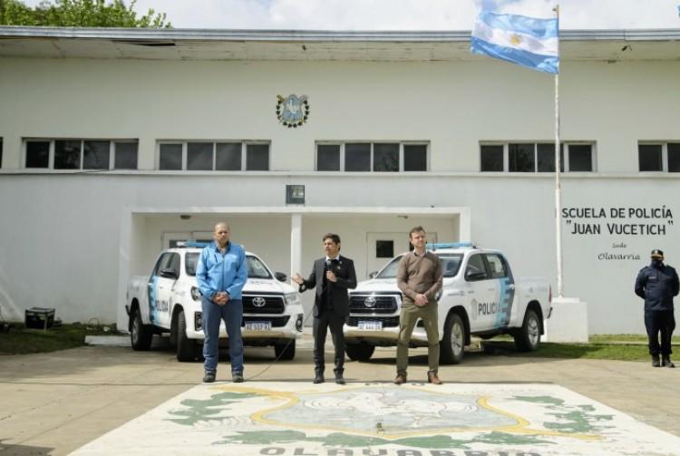 Axel Kicillof anunció un aumento salarial para las fuerzas de seguridad de la Provincia