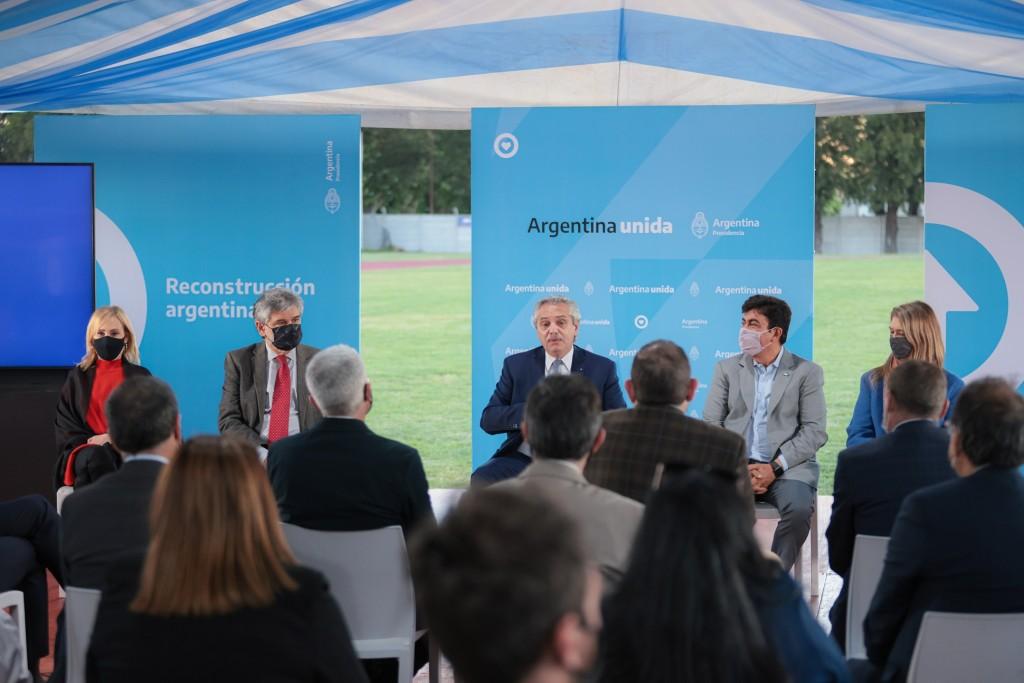 El Presidente presenta el polo tecnológico de innovación La Matanza