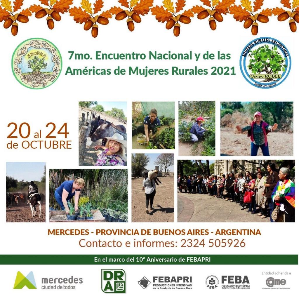 7° encuentro Nacional de Mujeres Rurales y de las Américas 2021