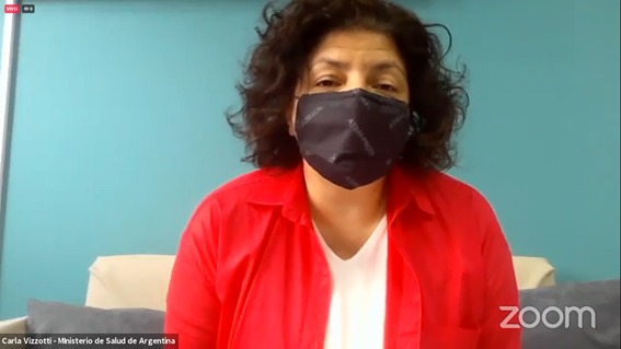 """Carla Vizzotti participó del encuentro latinoaméricano """"No más polio, derecho de todas y todos"""""""