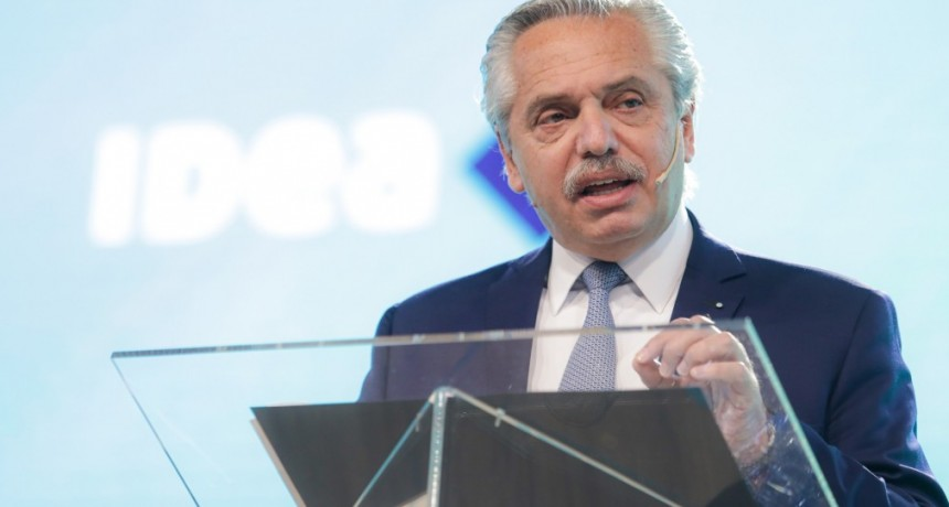 """Alberto Fernández a empresarios: """"necesitamos unir esfuerzos en la construcción de una nueva sociedad"""""""