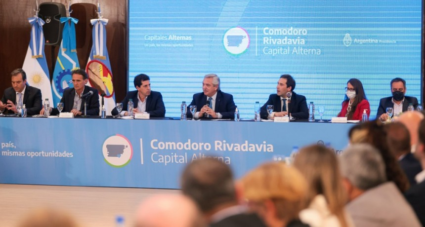 El Presidente anunció inversiones para Chubut por más de 12.176 millones de pesos