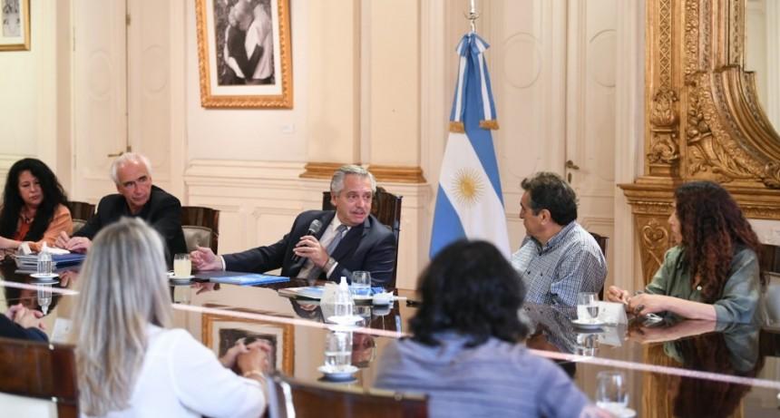 Ante la CTA Autónoma, el Presidente garantizó defender la estabilidad de los precios, controlar la inflación y cuidar a las familias argentinas