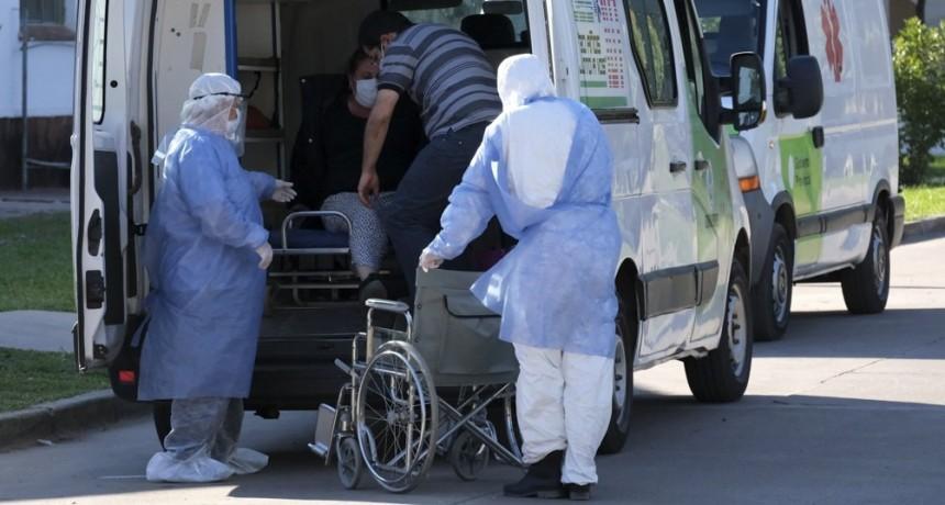Hubo 35 muertos y 1.541 nuevos casos de coronavirus en Argentina