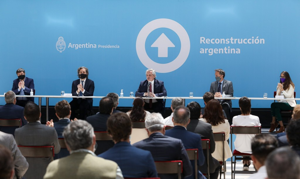 El presidente Alberto Fernández anunció este mediodía, desde Casa Rosada, la construcción de 300 Centros de Desarrollo Infantil