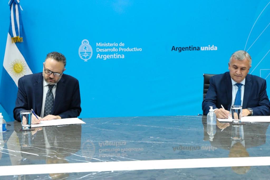 Kulfas y Morales anunciaron financiamiento por $400 millones para PyMEs de Jujuy
