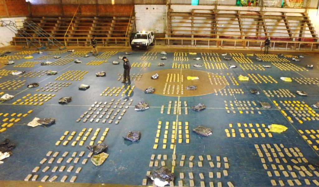La Prefectura Naval decomisó un cargamento de más de una tonelada y media de marihuana en Misiones